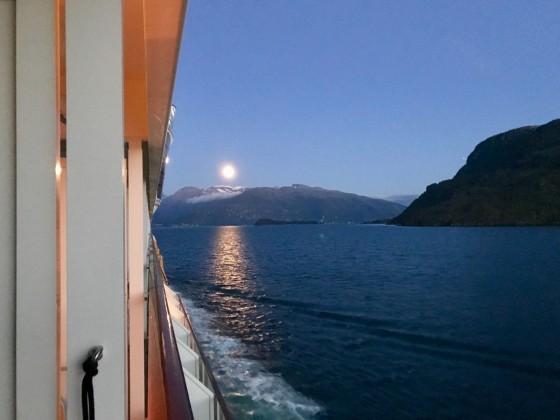 Um Mitternacht in Norwegen