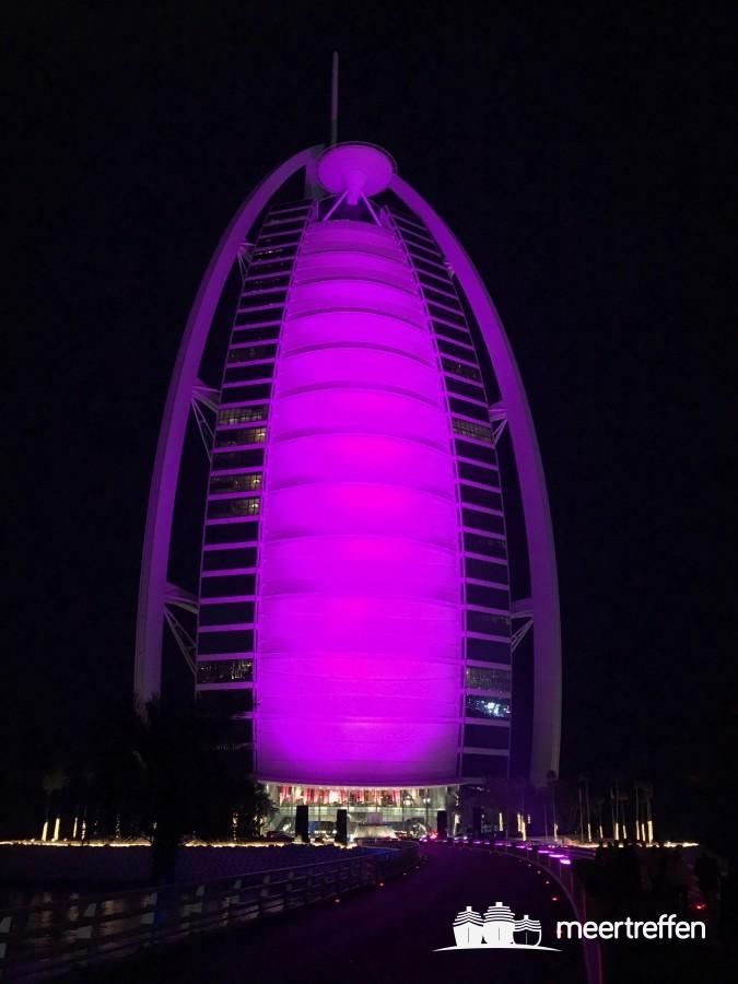 Abendessen im Burj al Arab