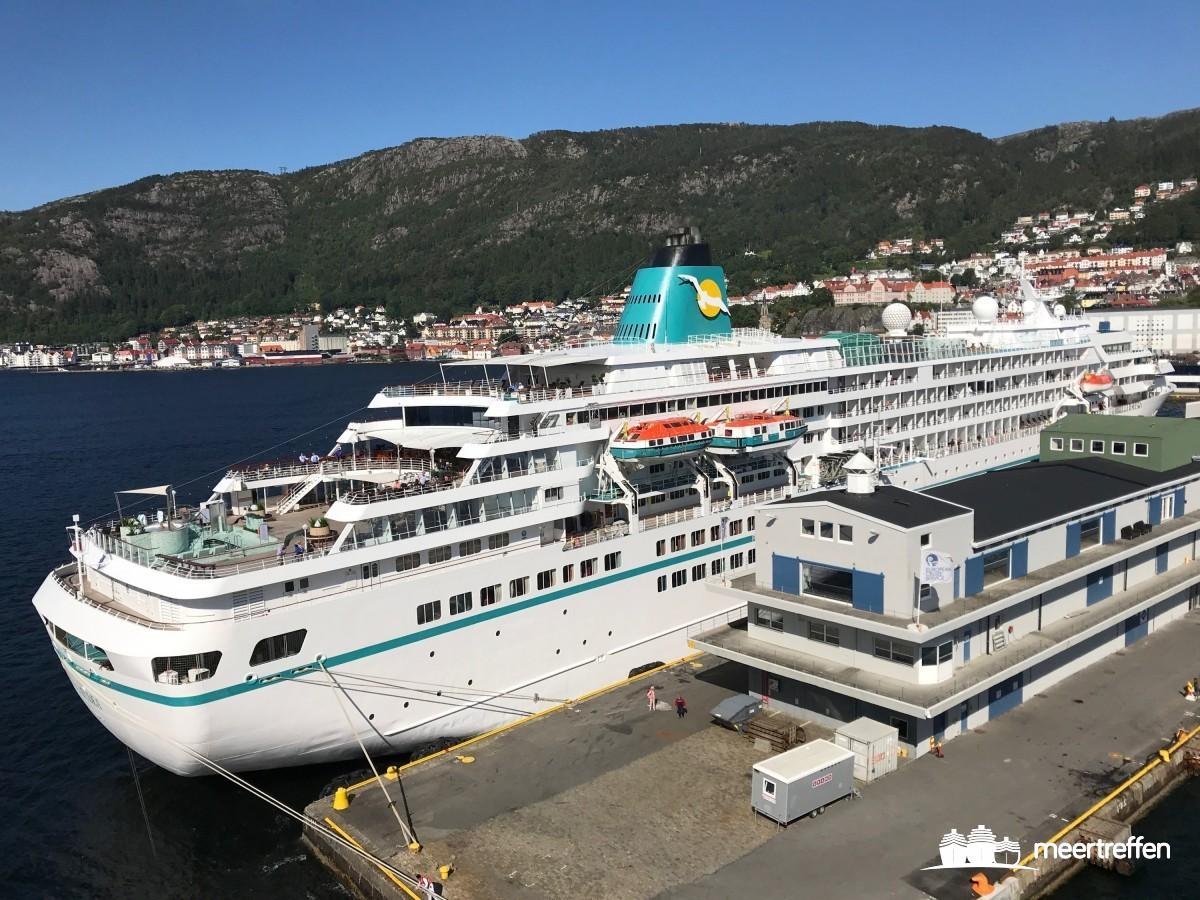 Die AMADEA in Bergen